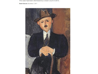 Judge Revives Case Against the Nahmad Family Over Allegedly Looted Modigliani