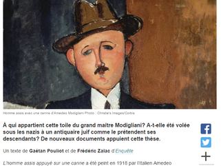 New clues in the case of the mysterious Modigliani
