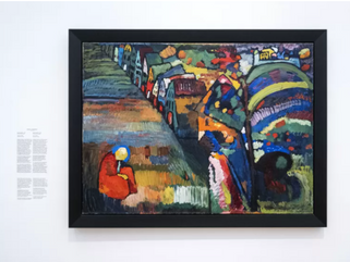 Trouw: Amsterdam wants to investigate the restitution of 'stolen' Kandinsky again