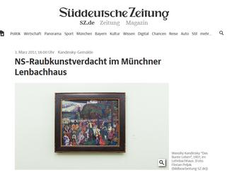 Nazi Theft at the Munich Lenbachhaus