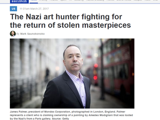 The Nazis art hunter fighting for the return of stolen masterpieces