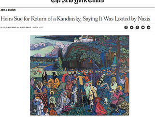 Heirs Sue for Return of Kandinsky
