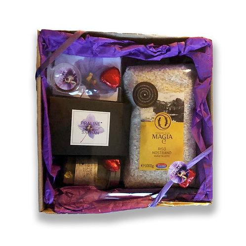 Safran Geschenksbox