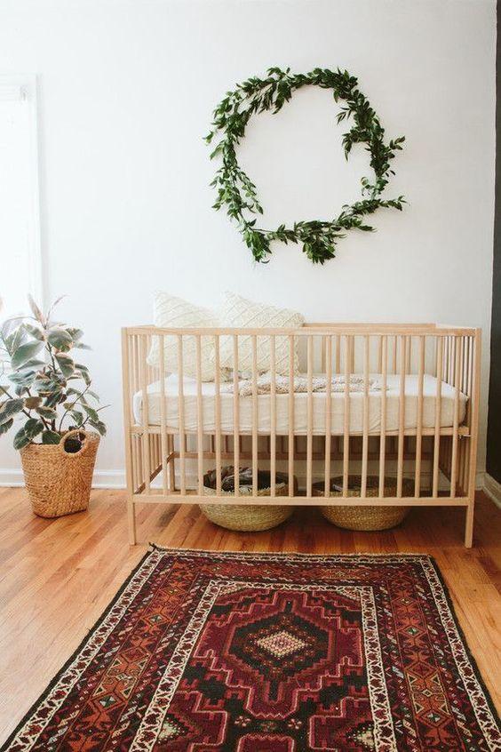 7 sweet bohemian nurseries, interior design for kids