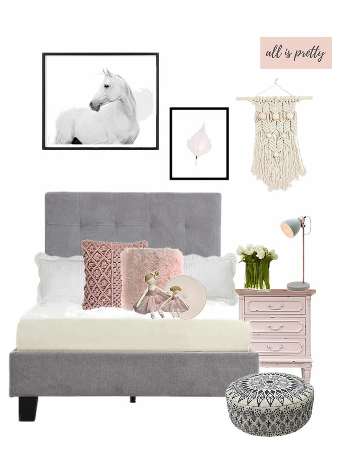 Have fun designing a room for your preteen girl