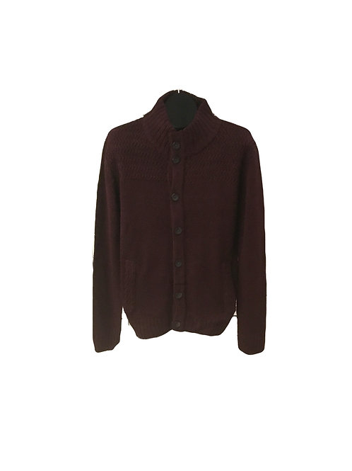 Unisex Button Up Knit Sweater