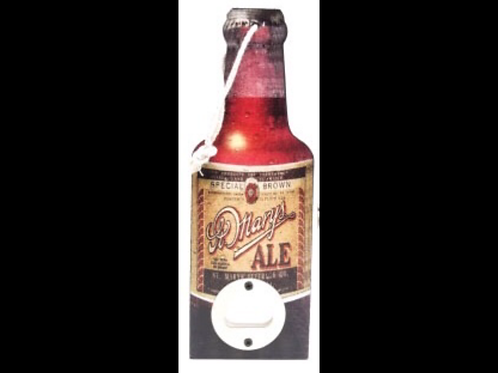 Wooden Bottle Opener St Marys Ale