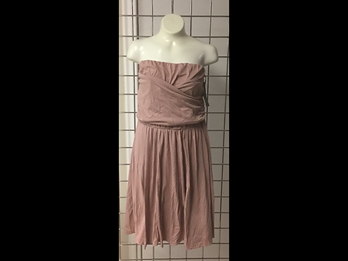Dusty Rose Strapless Dress