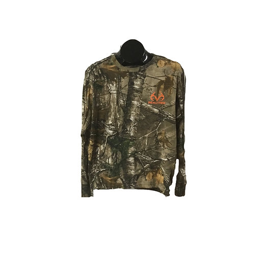 Realtree Long Sleeve Camouflage T-Shirt