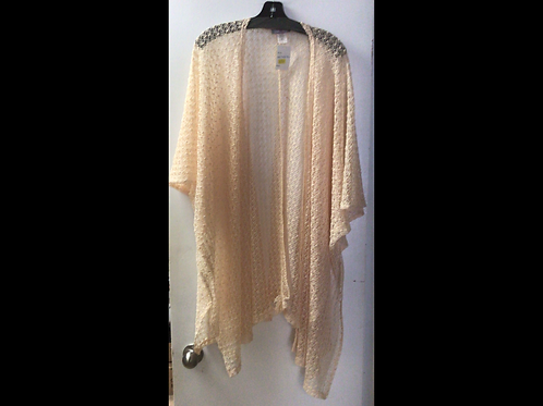 Crocheted Coverup-Ivory
