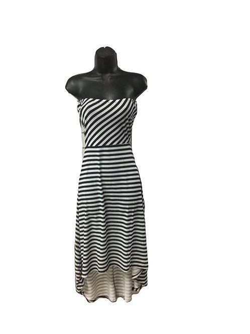 Hi-Low Sleeveless Dress