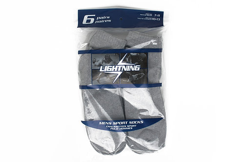 Men's 6 Pack Ankle Sport Socks