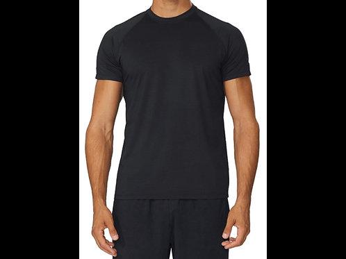 Black Qwick Dry Crewneck T-Shirt