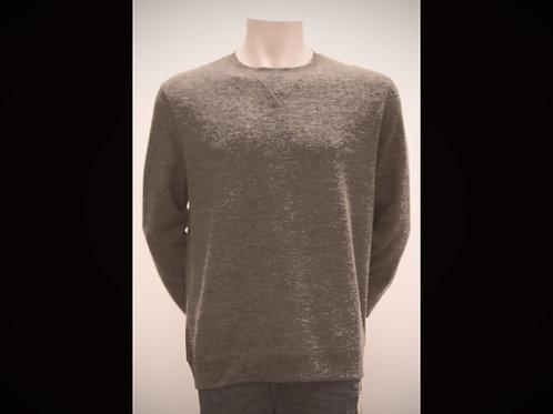 Beige Melange Crewneck Sweater