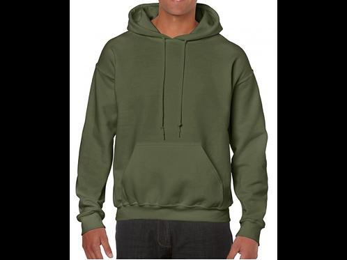 Military Green Heavyweight  Hoodie