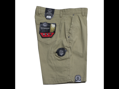 Khaki-Men's Weatherproof Expedition Short