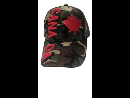 Canada Camouflage Baseball Cap