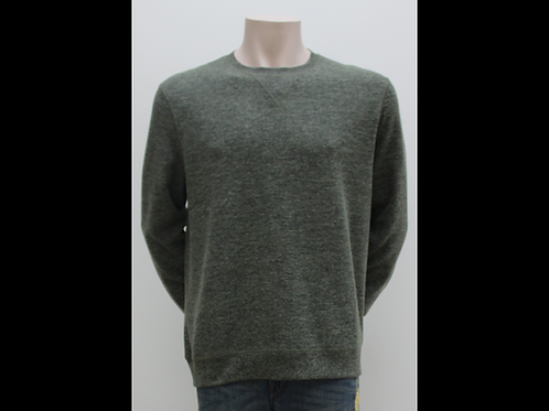 Army Melange Crewneck Sweater