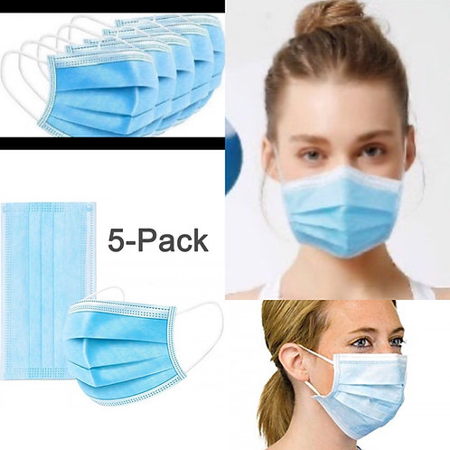 5 Pack Disposable NON-Medical