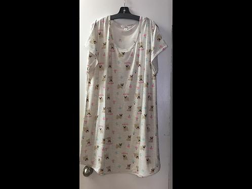 Printed Night Shirt