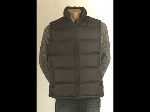 Charcoal Men's Quilted Vest
