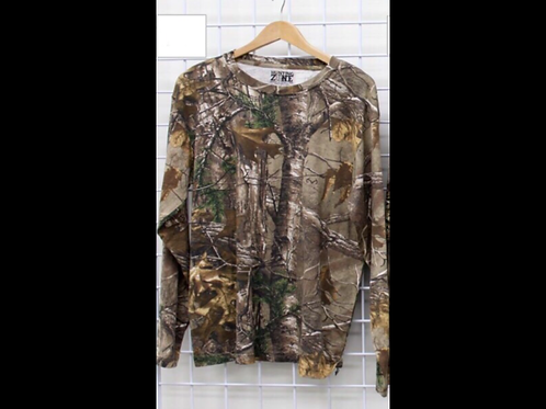 Long Sleeve Camouflage Tops