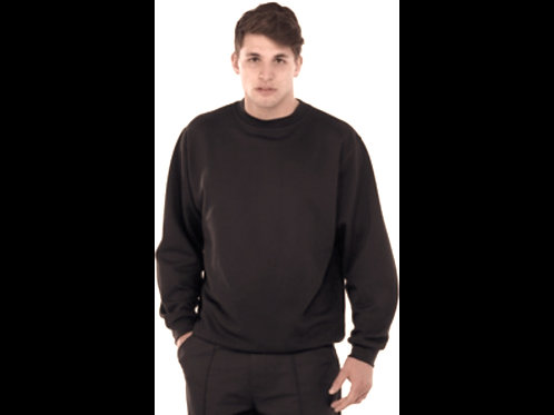 Black Arco  Crewneck Sweatshirt