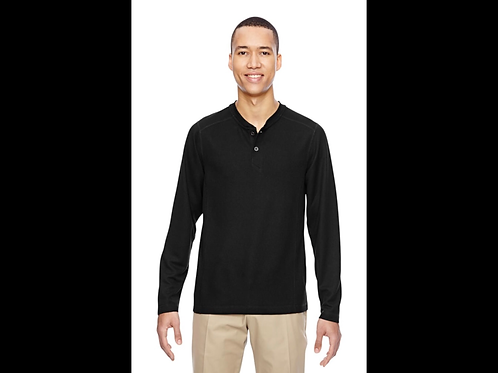 Men's Performance Waffle Henley