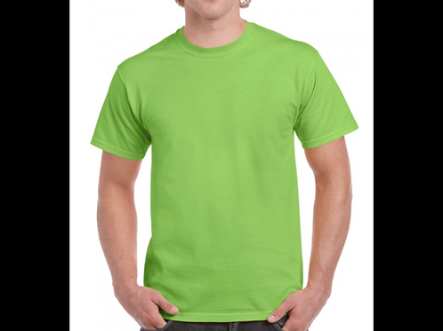 Lime Gildan T-Shirt