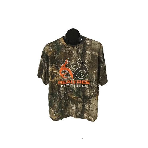Realtree Short Sleeve Camouflage T-Shirt with Logo