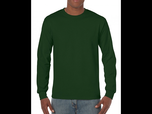 Forest Green Long Sleeve T-Shirt