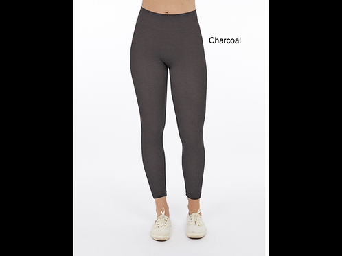 Charcoal Cotton blend – Perfect fit leggings