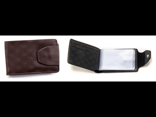 Card Holder with Snap Closure