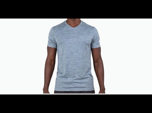 Qwick Dry V-neck T-Shirt