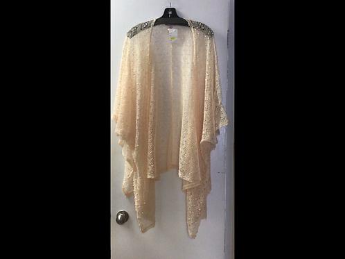 Crocheted Coverup-Cream