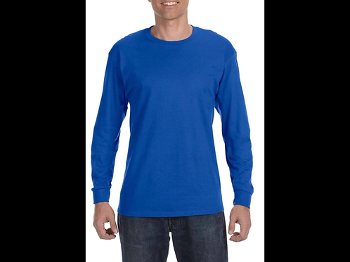Royal Blue Long Sleeve T-Shirt