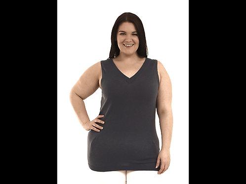 Full Figure Knit Shell Tank Top