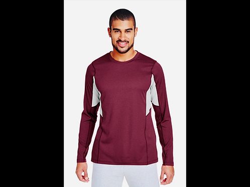 Maroon Performance Warm-Up Shirt