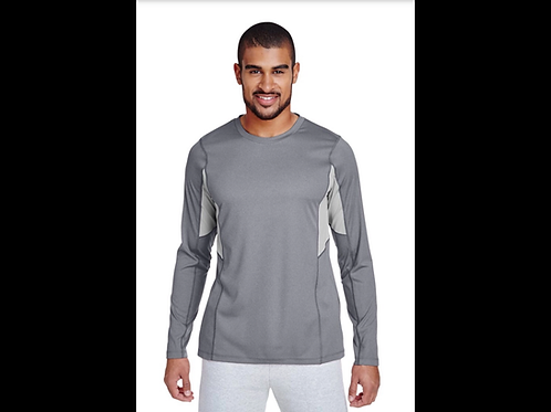 Gray Performance Warm-Up Shirt
