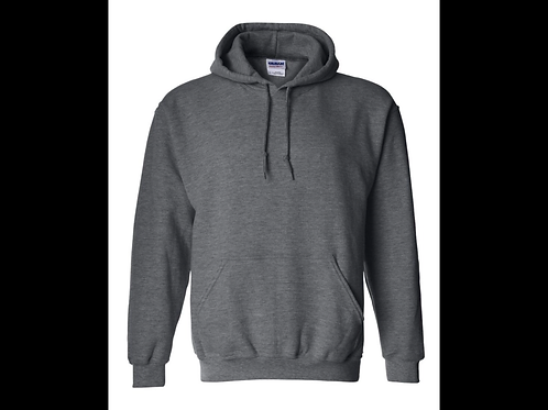 Dark Heather Heavyweight  Hoodie