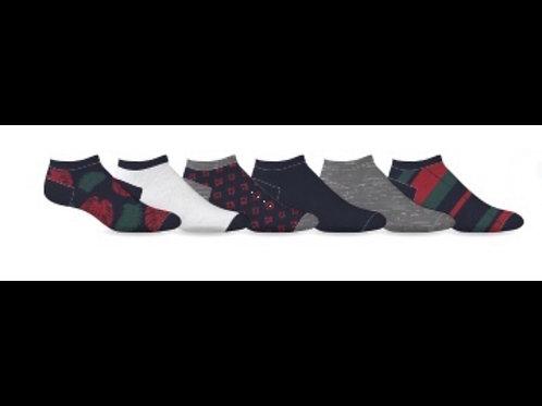 Men's 6PK No Show Ankle Socks
