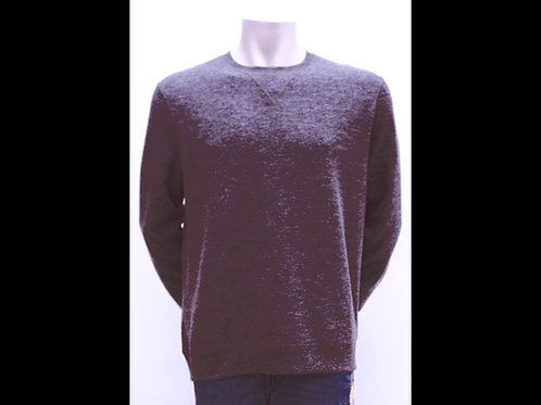 Maroon Melange Crewneck Sweater