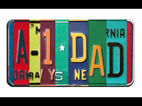 Decorative License plate A-1 DAD