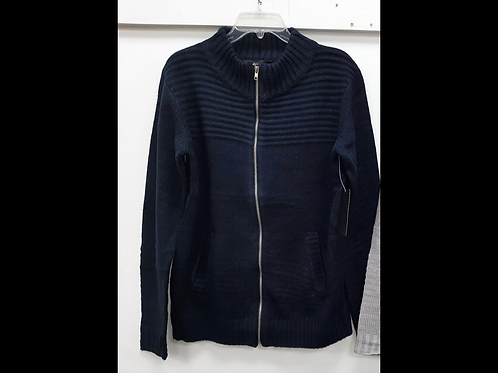 Unisex Full Zip Knit Sweater