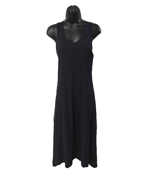 Long Cotton Asymmetrical Dress