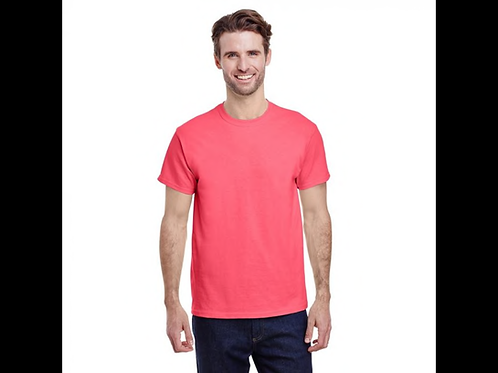 Coral Silk Gildan T-Shirt
