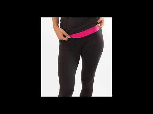 Pink Cropped 7/8 Athletic Pants