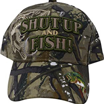 Shut up and Fish Baseball Cap