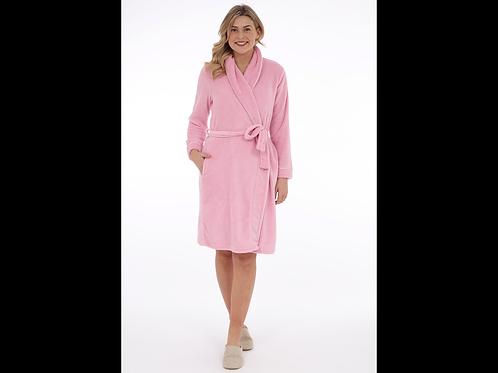 Shawl Collar Fleece Robe