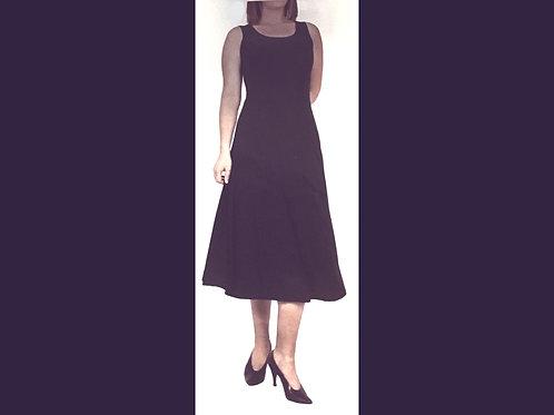 Navy 3/4 Length Tank Dress